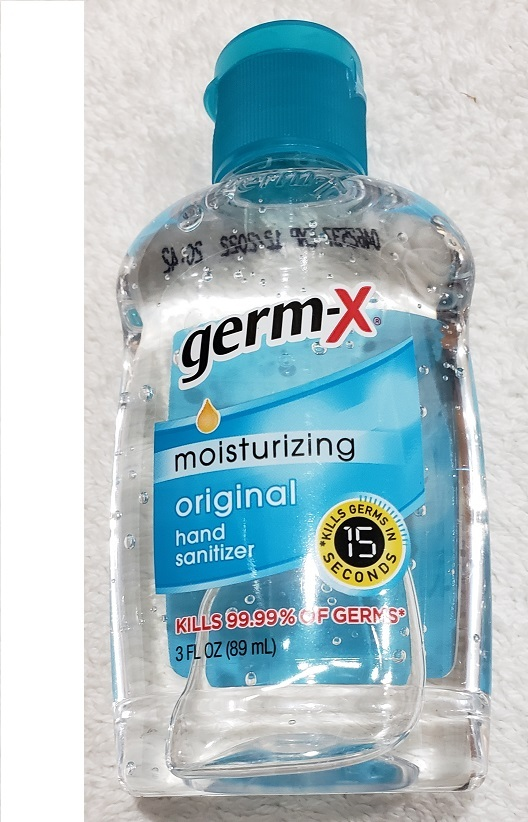 Primary image for Hand Gel Germ-X Hand Sanitizer 1X Of 3oz Bottle no soap need Ship from USA