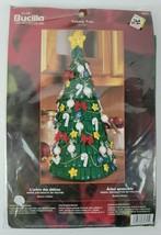NIP Bucilla Felt Decorative Tree Kit Christmas Yummy Tree 84825 - $21.78