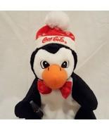"""Coca Cola Penguin Christmas Beanbag Plush Stuffed Animal 7"""" 1997 Snowfla... - $9.78"""