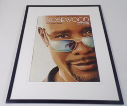 Rosewood 2015 Fox Framed 11x14 ORIGINAL Advertisement Morris Chestnut - $32.36
