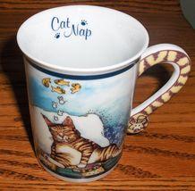 Gary Patterson Danbury Mint Comical Cats Cat Nap Porcelain Collector 10o... - $12.99