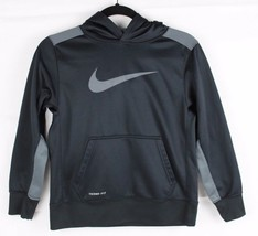 Nike Jugend Kinder Therma Passform Basketball Pullover Kapuzenpulli Poly... - $18.41