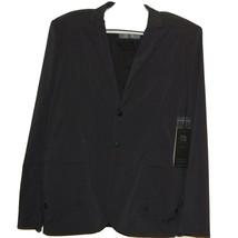 Blanc Noir Black Gray Men's Lining Jacket Raincoat Fabric Size 2XL NEW $249 - $83.70
