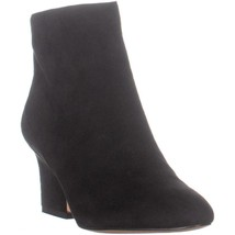 Enzo Angiolini Cadyn Pointed Toe Heeled Ankle Boots, Black Suede - $49.99