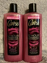 Caress Adore Forever 18.6 oz Body Wash 12 Hour Fragrance Technology, Lot... - $33.99