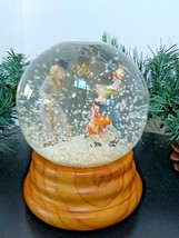 "Department 56 A CHRISTMAS CAROL 6"" Musical Snow Globe Scrooge Tiny Tim C... - $87.22"