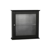 Medicine Cabinet Storage Organizer with Glass Wall Mount Bathroom Cabine... - $68.65