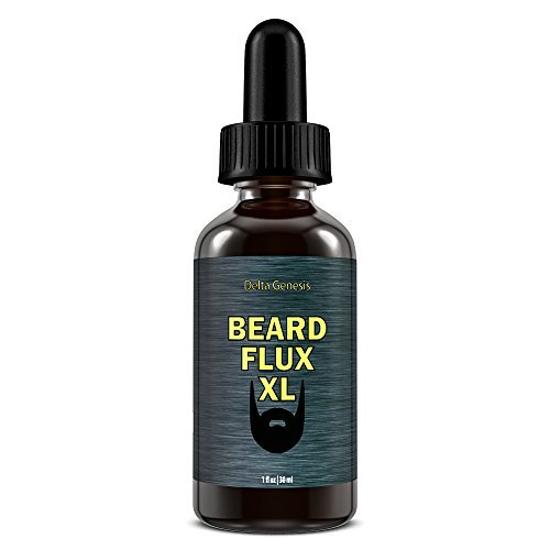 Beard Flux XL | Caffeine Beard Growth Stimulating Oil for Facial Hair Grow | Fue