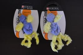 Lot of 2 PURINA PET GEAR Cat Toy Catnip Feathered Funny Bird (Duck) Teas... - $8.59