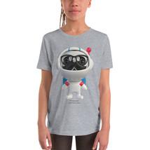 Pugmmander Girl Youth Short Sleeve T-Shirt - $20.00