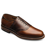 Handmade Men's Burnished Brown Lace-up With Oxford Style Leather Shoes  - £112.04 GBP