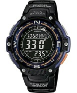 Casio Digital Chronograph Compass World Time Men`s Watch New With Box - $154.00