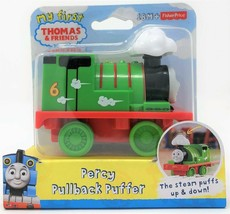 My First Thomas the Tank Pullback Puffer Percy Green Engine Train Vehicl... - $9.75