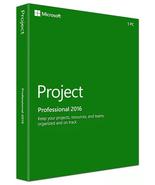 Microsoft Project Professional 2016 Genuine License Key  - $20.99