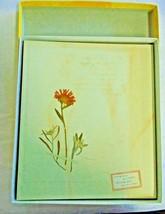 SCRAPBOOK ALBUM  HALLMARK 8 Page Self Adhesive Acid Free Floral Vintage ... - $37.39