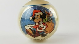 Vintage Walt Disney 1977 Christmas Ornament Mickey Mouse Limited Edition - $10.00