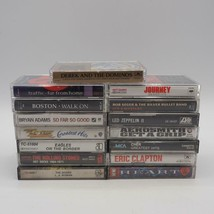 Vintage Lot of 15 1970's Rock N' Roll Music Cassette Tape Collection - $24.74