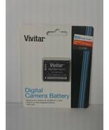 Vivitar Replacement Lithium Ion 1000 mAh Battery Pack LI-50B for OLYMPUS... - $13.60