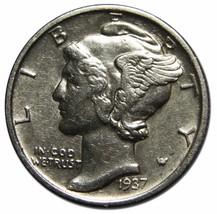 1937S Mercury Silver Dime 10¢ Coin Lot# EA 114