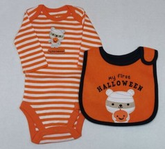 Carter's 2 Piece First Halloween Outfit for Boys Newborn 3 or 6 Months M... - $12.00