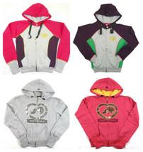ECKO Junior Women's Heartbreaker Hoodie Full Zip Hooded Sweatshirt Licensed NEW