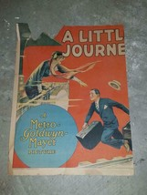 1927 A Little Journey Movie Poster - Piece of the movie poster torn and ... - $99.00