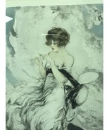 Louis Icart II m'aime Signed Etching 1925 - $1,249.75