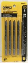 (New) DeWalt DW3703-5 Jig Saw Blades BiM 6TPI 5 pc - $14.74