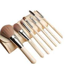 7Pcs Synthetic Foundation Concealers Eye Shadows Makeup Brush Sets(White) image 2