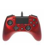 HORI Pad 4 FPS Plus for PS4 PS3 Controller Red Turbo Rapid Fire Wired - $61.88