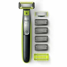 Philips Norelco OneBlade Face + & Body, Black/Green/Silver  - $67.31