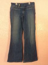 fe4f175541c Womens Hydraulic Stretch Denim Blue Jeans Size 8 Flare Leg - $6.92