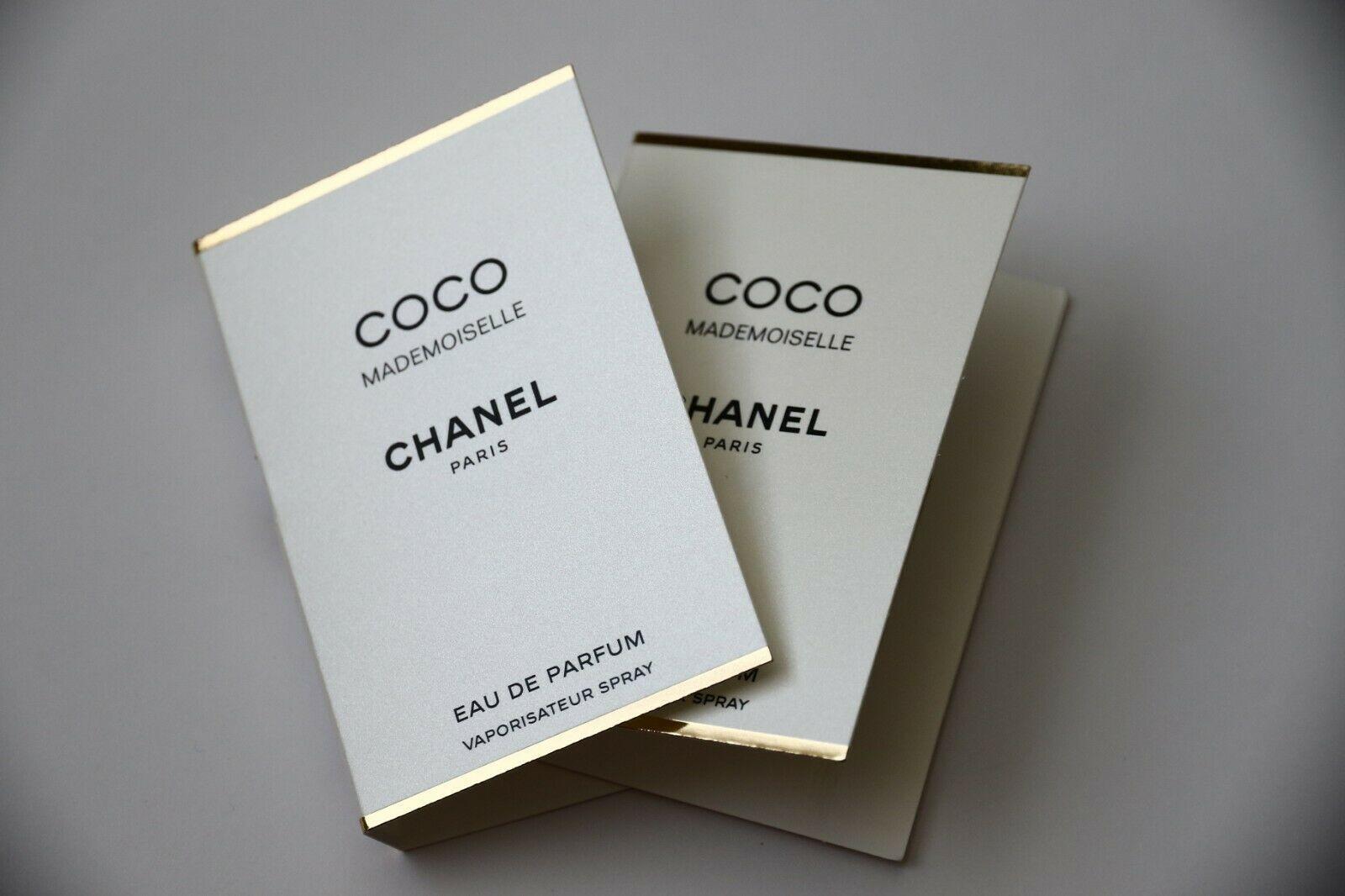 2 x Chanel Coco Mademoiselle Eau de Parfum Samples Spray EDP Perfume Lot