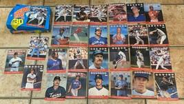 Vintage Topps Baseball Stars In 3D Lot 27 & Box Don Mattingly George Brett Jumbo - $24.75