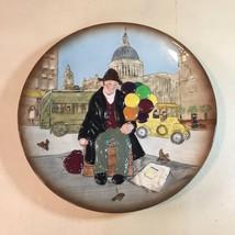 "VTG Royal Doulton ""The Balloon Man"" by Leslie Harradine 3D Collectors Plate - $19.55"