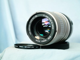 Canon Ef Fit Sigma 100-300mm Zoom Autofocus Lens -FILM Camera Use ONLY- Elan - $35.00