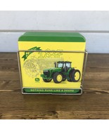 John Deere 4 pc Coaster Set Tractors With Metal Holder Multi-Colored and... - $20.00