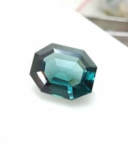 100% Natural Blue Tourmaline Fancy Cut Stone AAA+Quality 13.60 Cts Gemst... - $88.19