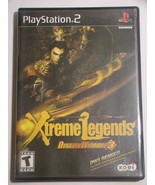 Playstation 2 - Xtreme Legends DYNASTY WARRIORS 3 (Complete with Manual) - $15.00