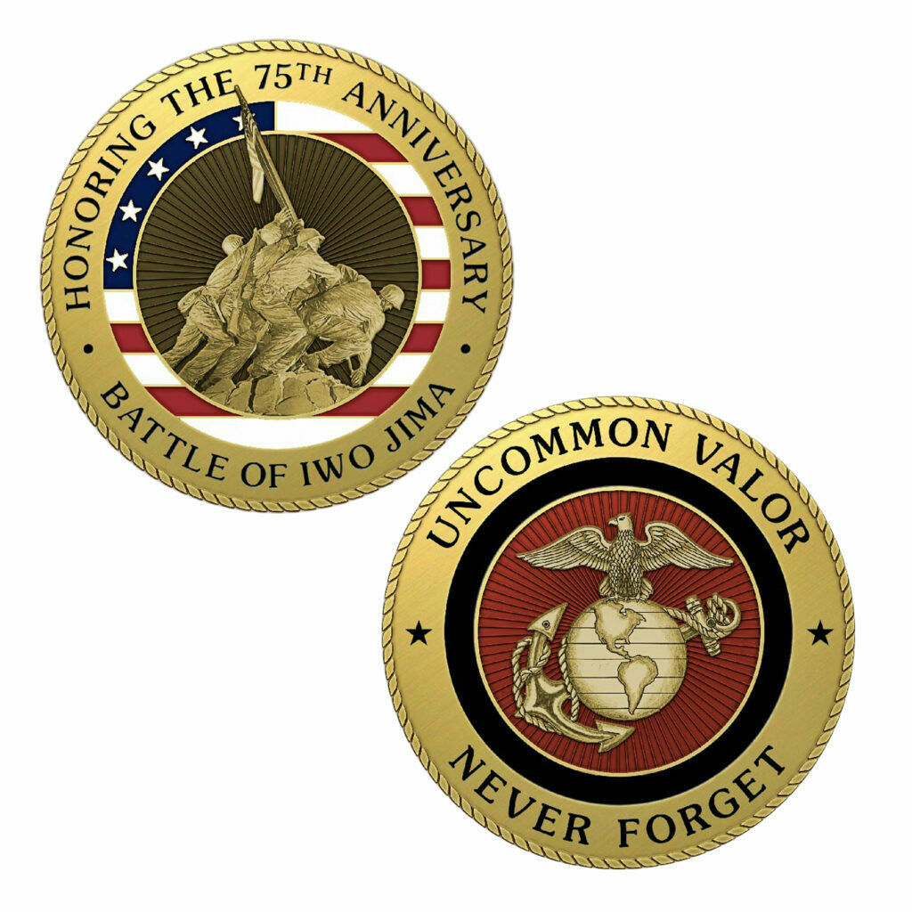 Shellback Hold Fast 3D Challenge Coin