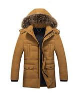 2019 New Men's Winter Heavy Lined Parka Russian Hooded Toasty Warm Snow ... - $249.95