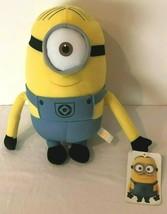 "Despicable Me 2 One Eyed Minion Stuart 10"" Plush Stuffed Toy Universal Studios  - $13.99"