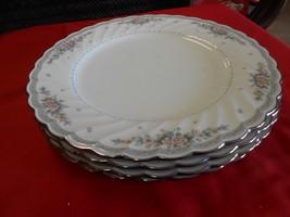 "Beautiful NORITAKE ""Knottinghill"" Set of 4 BREAD / SALAD / DESSERT Plates - $55.15"