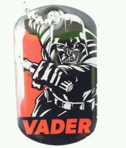Star Wars Double Sided Darth Vader Storm Trooper Dog Tags Necklace 2 sid... - $7.55