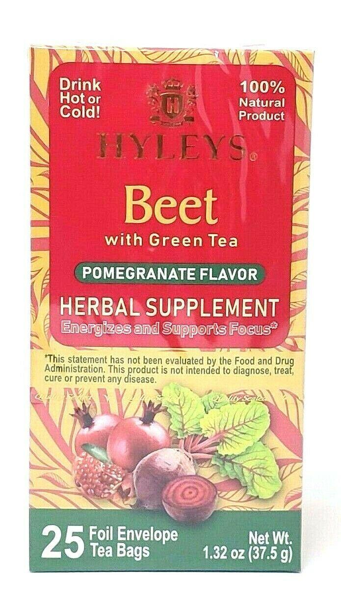 Hyleys Beet With Green Tea Pomegranate And 50 Similar Items