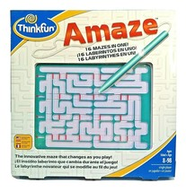 Thinkfun Amaze 16 Mazes in One Changes Every Time you Play All Ages Game... - $14.69