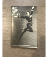 1978 NYC Ballet State Theater Lincoln Center Stagebill Play Program Bary... - $24.00