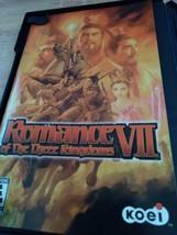 Sony PS2 Romance Of The Three Kingdoms VII image 2