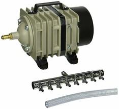 Hydrofarm AAPA70L 60-Watt 70-LPM Active Aqua Commercial Air Pump with - $76.27
