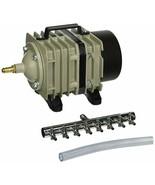 Hydrofarm AAPA70L 60-Watt 70-LPM Active Aqua Commercial Air Pump with - $80.08